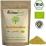 Bockshornklee gemahlen BIO (500g) | Bockshorn-Tee| Bockshornkleesamen Pulver | Ideal als Tee oder Gewürz | Fenugreek Seeds Powder Organic