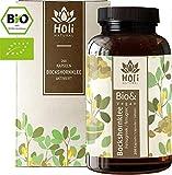 Holi Natural® BIO Bockshornklee Aktiviert. 200 vegane Kapseln. 1500mg / Tagesdosis (3 Kapseln). Reines Bio Bockshornklee Pulver aus Samen. Ohne unerwünschte Zusätze. Sorgfältig hergestellt.